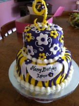 LSU Themed Birthday