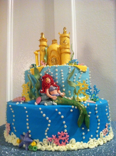 A little Mermaid and King Tritons Castle